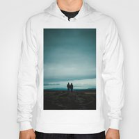 iceland Hoodies featuring Iceland View by MarsStation