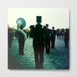Marching Band Metal Print