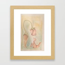I Will Take Care Of You Framed Art Print