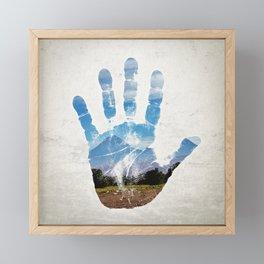 Earth Print Framed Mini Art Print