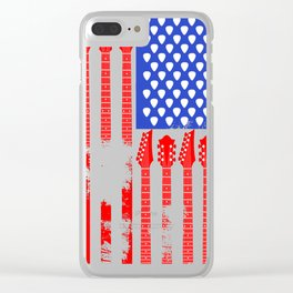 Country Music V.2 Clear iPhone Case