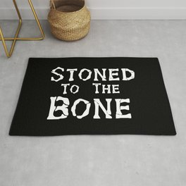 Stoned To the Bone Rug