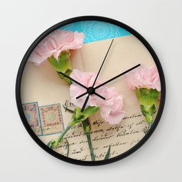 The Love Letter Wall Clock
