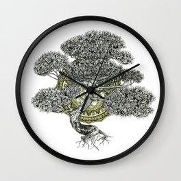Western Hemlock Wall Clock