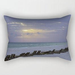 Beach Chairs Rectangular Pillow