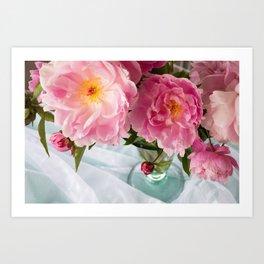 Vibrant Bouquet Art Print