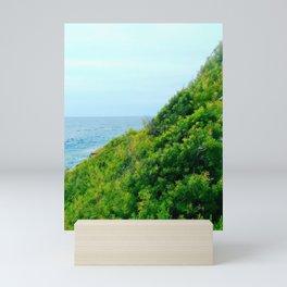 Seaside Slant Mini Art Print