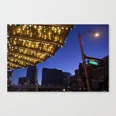 Casino Lights Canvas Print