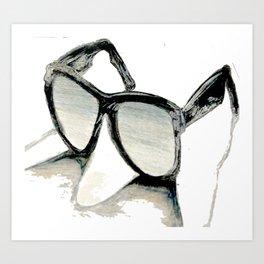 Sunglasses Art Print