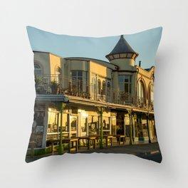 Ilfracombe Promenade Throw Pillow