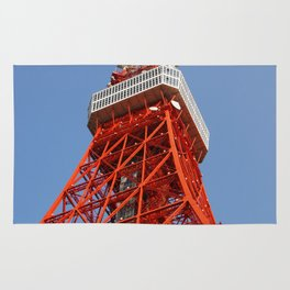 Tokyo Tower in daylight Rug