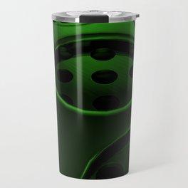 Circular speaker grille Travel Mug