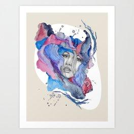"""Lotte"" by carographic Art Print"