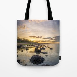 Sunset The Rockery Isle of Wight Tote Bag