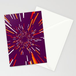 Space Trip 4 Stationery Cards