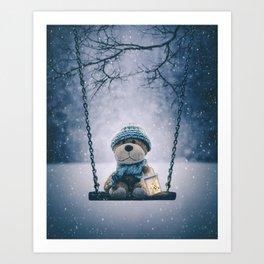 Teddy 3 Art Print