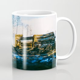 Poltery Site (Wood Storage Area) After Storm Victoria Möhne Forest 2 Coffee Mug