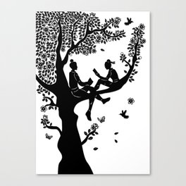 The Butterfly Lovers - Friends to Lovers Canvas Print