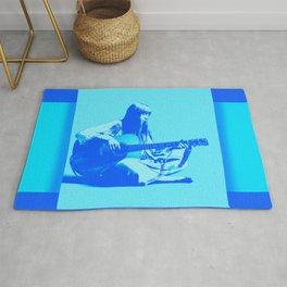 Blue Songbird Joni Mitchell Rug
