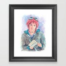 Ramona Flowers Framed Art Print