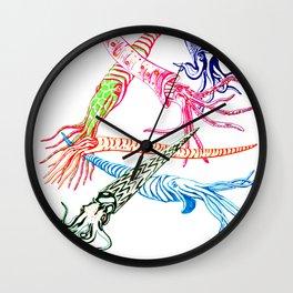 Baculites Wall Clock
