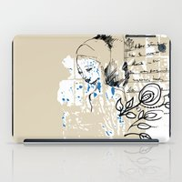 letter iPad Cases featuring Letter by Irmak Akcadogan