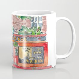Ireland Dublin The Temple Bar Street Scene Coffee Mug