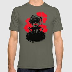 Oh capitán! Lieutenant LARGE Mens Fitted Tee