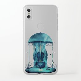 East Wind Clear iPhone Case