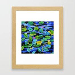 Watrlilies Framed Art Print