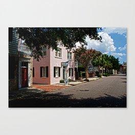 Side Street in Charleston Canvas Print