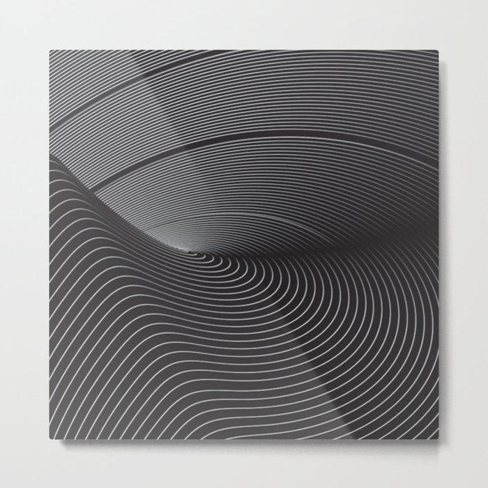Turbulens Metal Print
