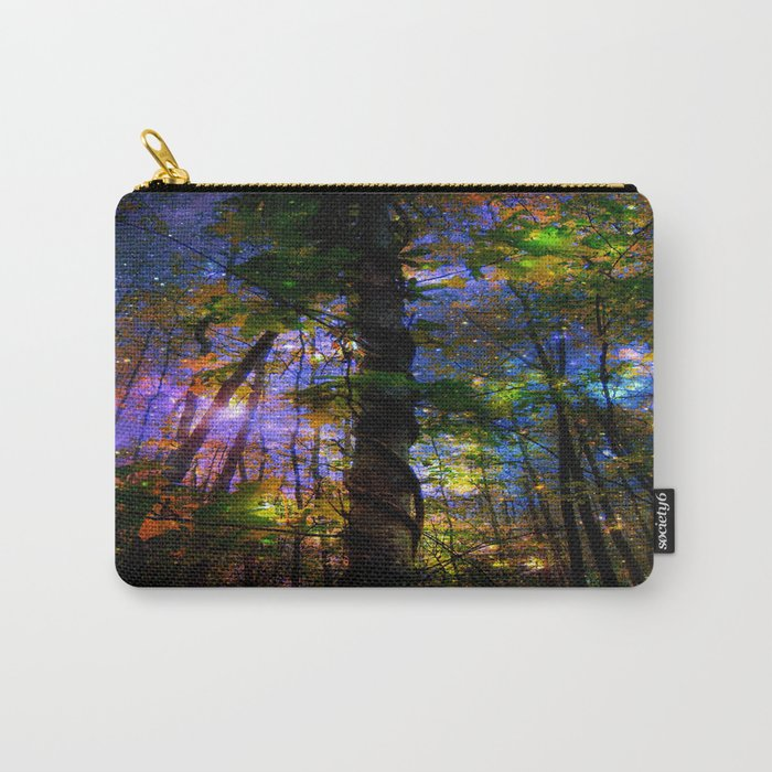 Forest of the Fairies Night Carry-All Pouch