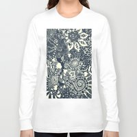 mermaid Long Sleeve T-shirts featuring MERMAID by Monika Strigel