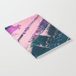 Wonder. - A vibrant minimal abstract piece in jewel tones by Alyssa Hamilton Art Notebook