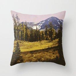 E. C. Manning Provincial Park Throw Pillow