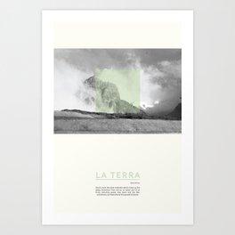 La Terra Art Print