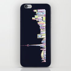 Toronto - Midnight Version iPhone & iPod Skin