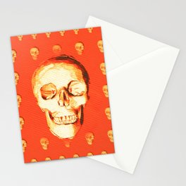 The Magic Skull Stationery Cards