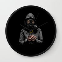 Toxic Hope Wall Clock