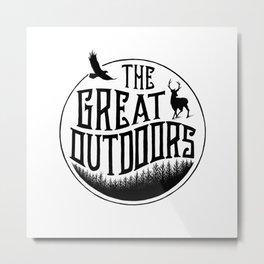 GREAT OUTDOORS Metal Print
