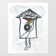 Coo Coo Clock 3 Art Print