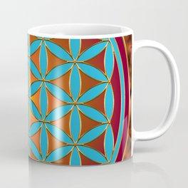 Flower of Life - Fire Coffee Mug