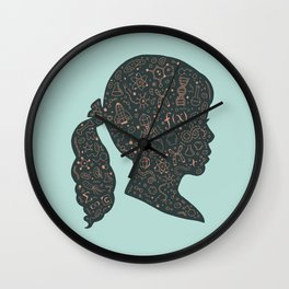 In a Science State of Mind 2 Wall Clock