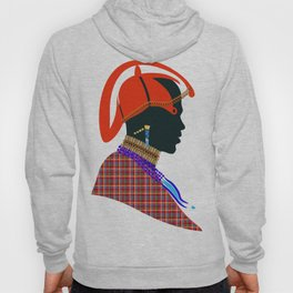 massai warrior digital design zolliophone shop Hoody