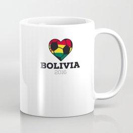 Bolivia Soccer Shirt 2016 Coffee Mug