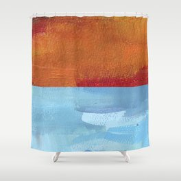 Sea & Sand Shower Curtain