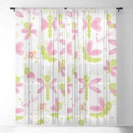 Bug a Boo Sheer Curtain