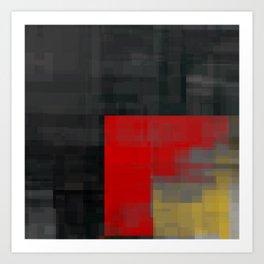 dark corner Art Print