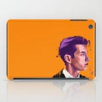 alex turner iPad Cases featuring Alex Boy by Jayesh Jayman Joshi